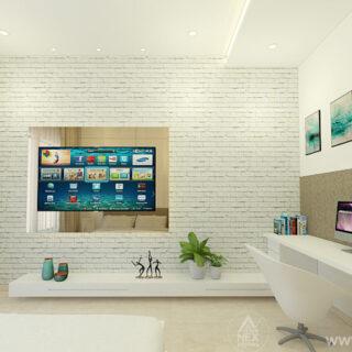 ELDER SON TV UNIT & STUDO