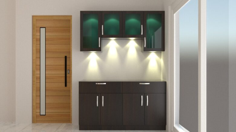 crockery unit designs