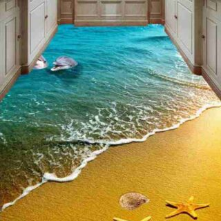3D Epoxy Kitchen Floor