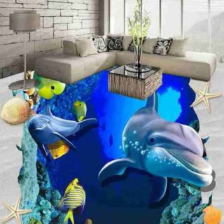 3D Customized Epoxy Flooring