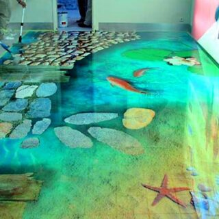epoxy flooring for villa