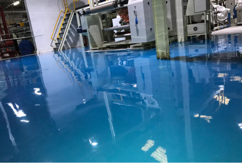 epoxy flooring in pharma