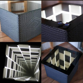 infinity mirror panels buy online