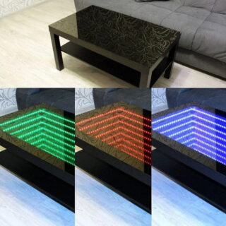 led mirror light panel