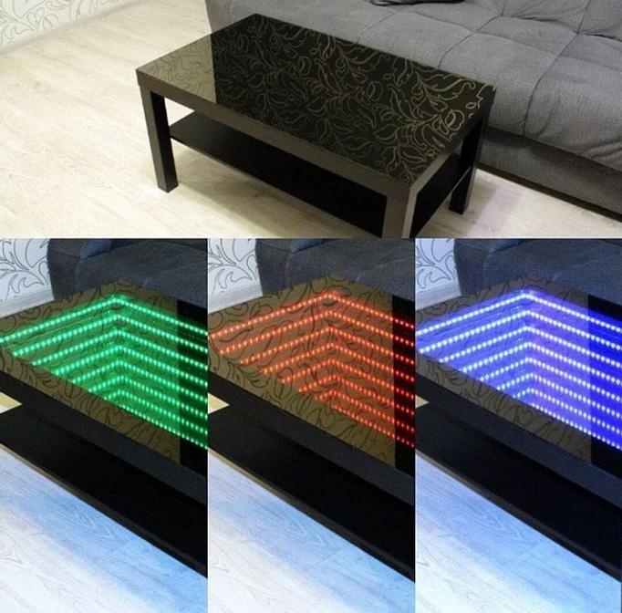 led mirror light panel
