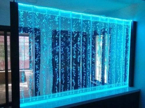 acrylic bubble water panel