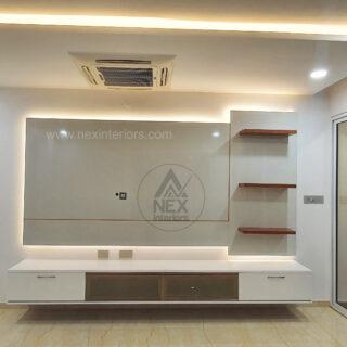 audio video tv unit interiors