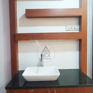 balconey modular kitchen storage unit