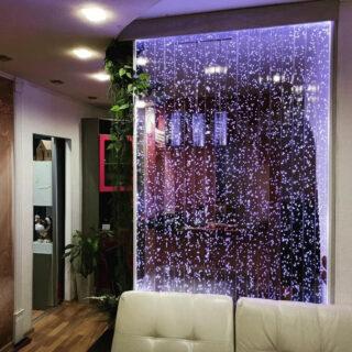 bubble glass panels