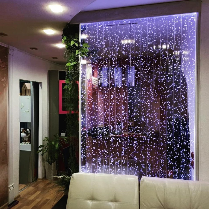 bubble glass panels