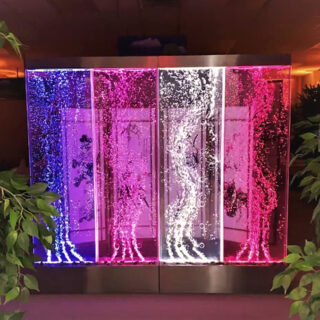 bubble water panel for interior