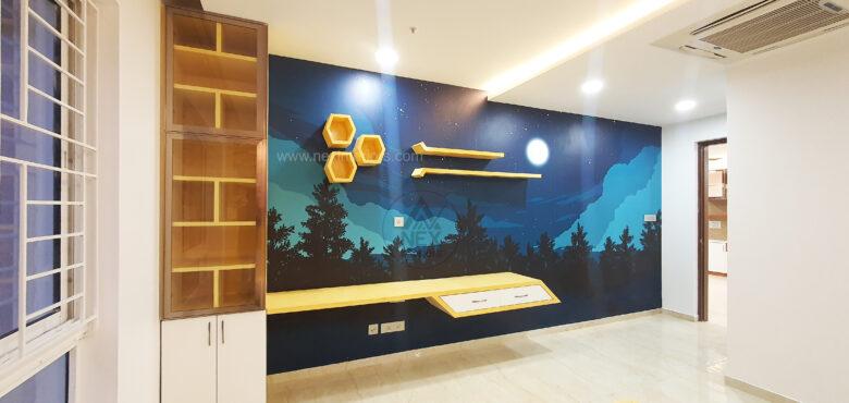children bedroom wallpaper design