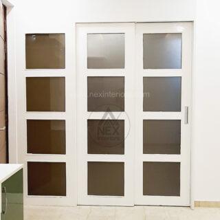wood sliding doors design