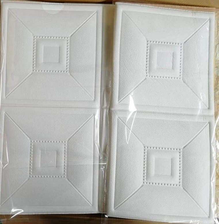 3D foam wall tile Decoration