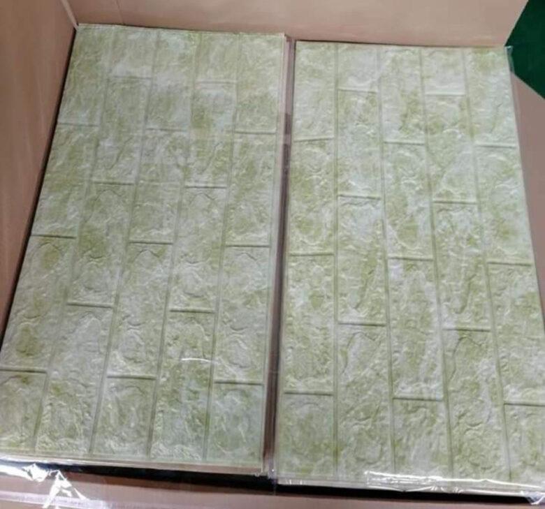 3d foam wall panel sticker design