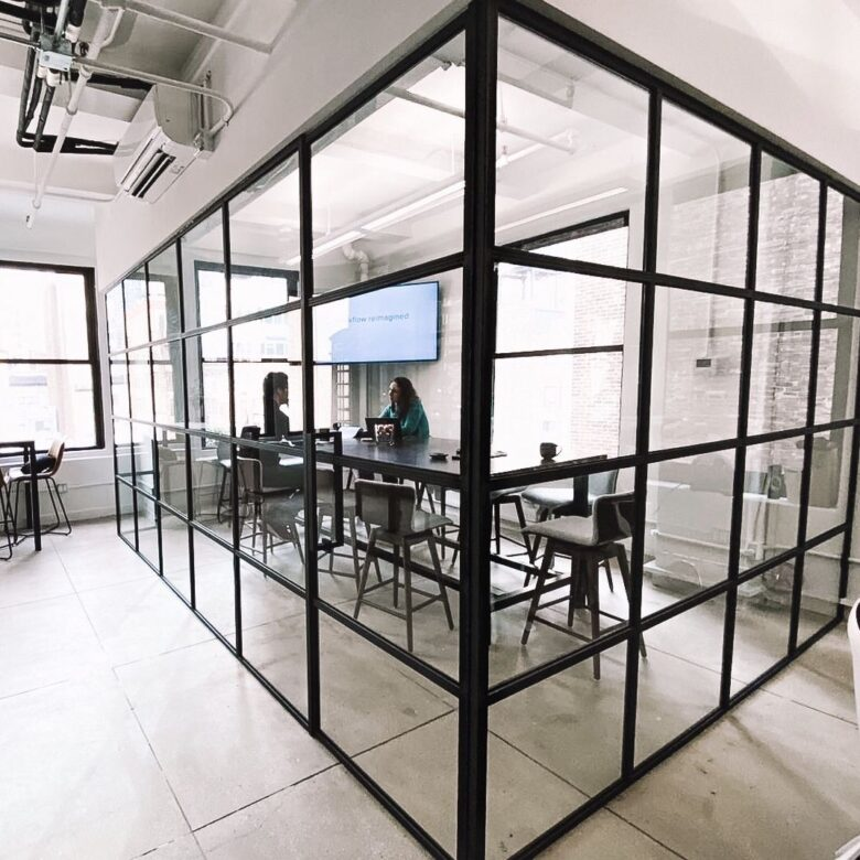 Steel Profile Office Partition